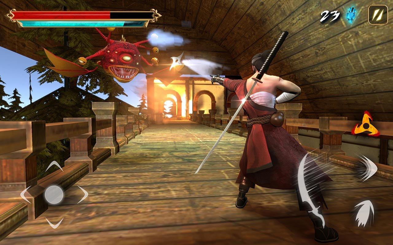 Takashi Ninja Warrior screenshot 2
