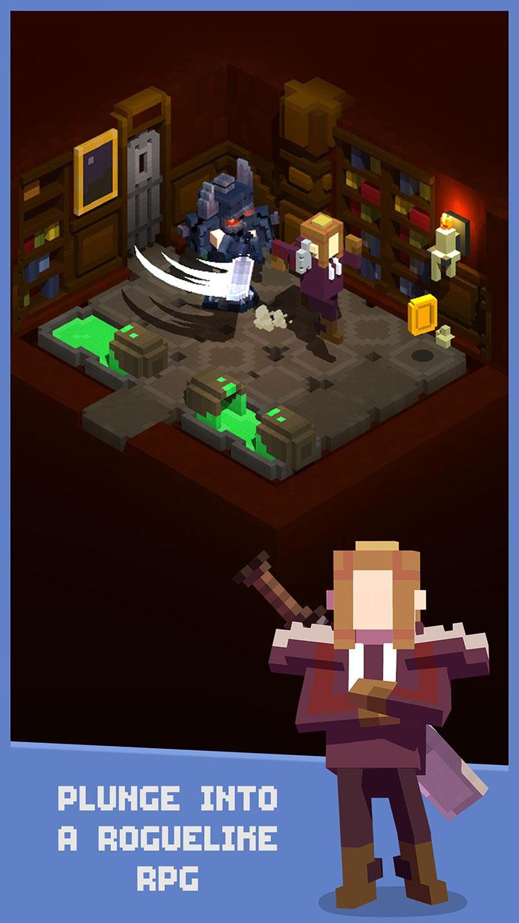 Tiny Tomb: Dungeon Explorer screenshot 1