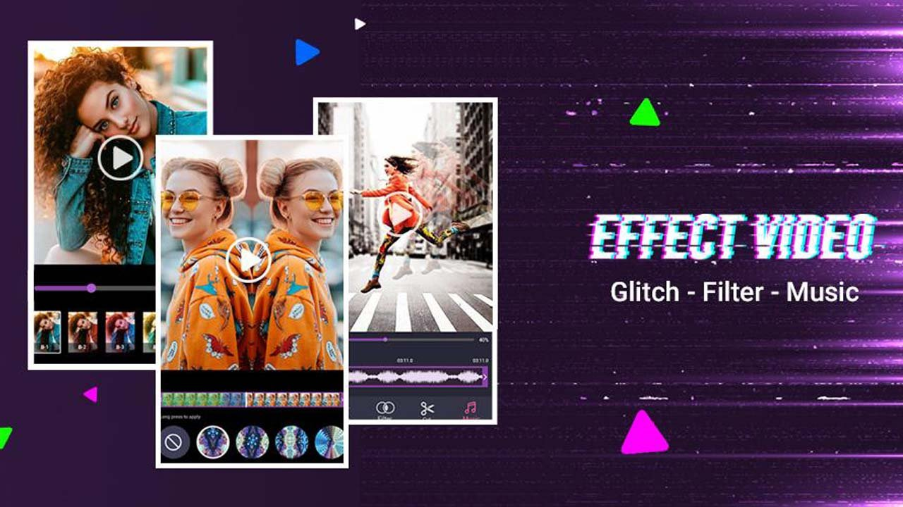 Video Editor: Glitch Video Effects poster