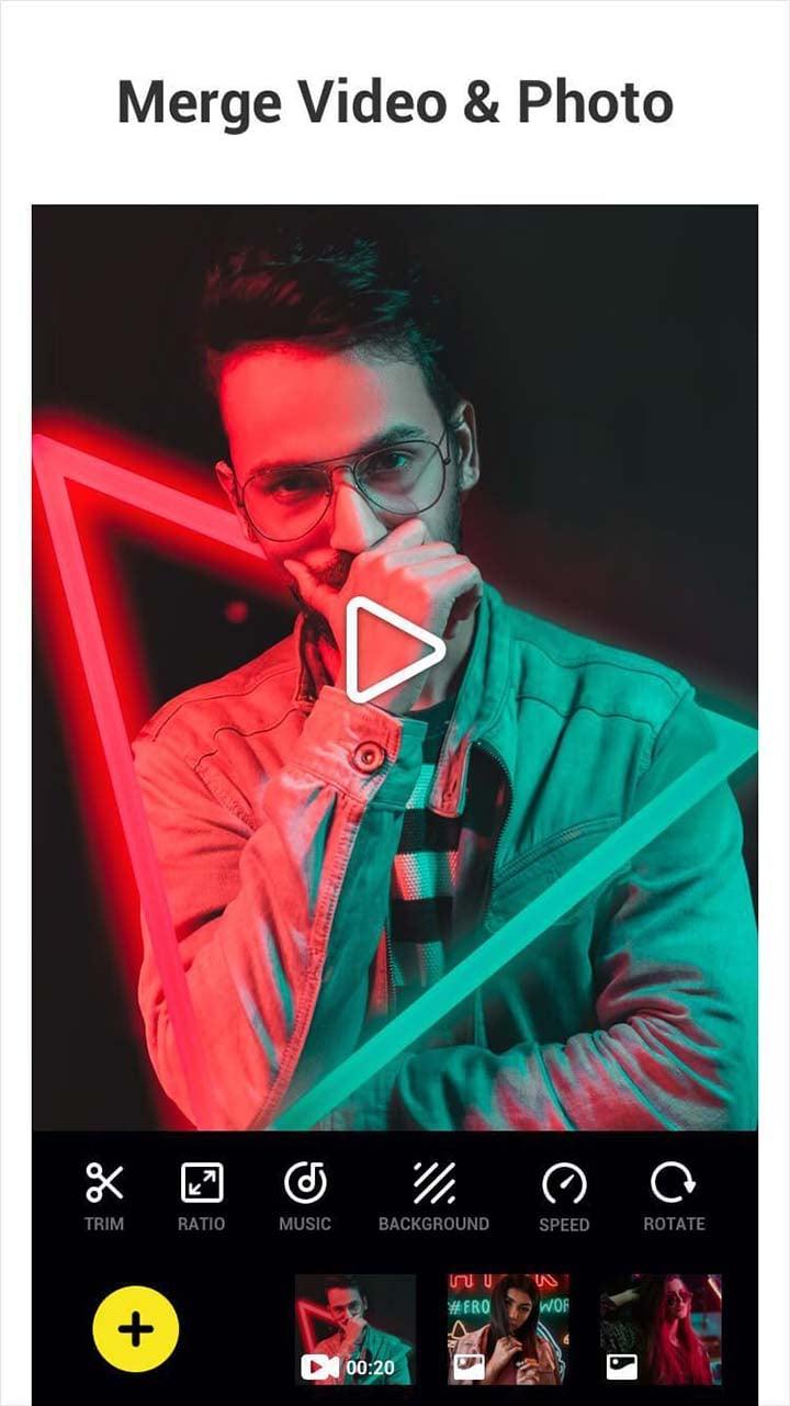 Video Editor: Glitch Video Effects screenshot 1