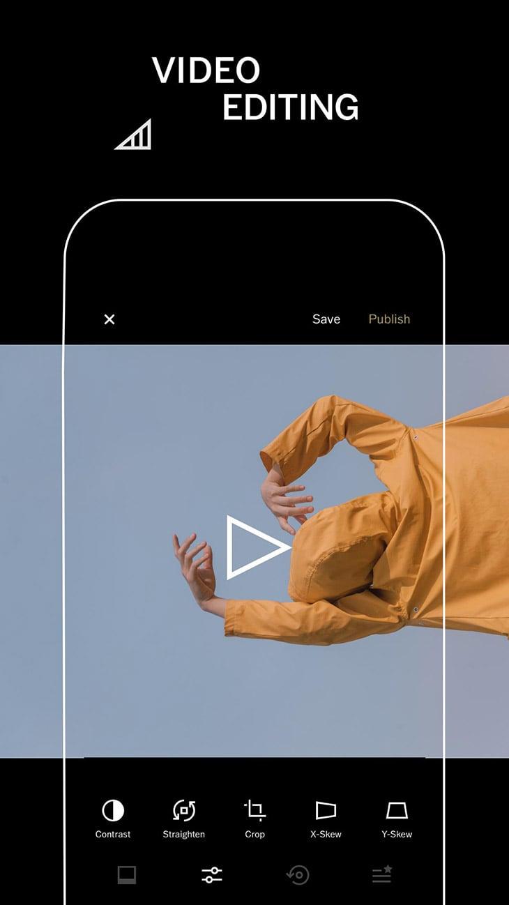 VSCO Photo and Video Editor screenshot 1