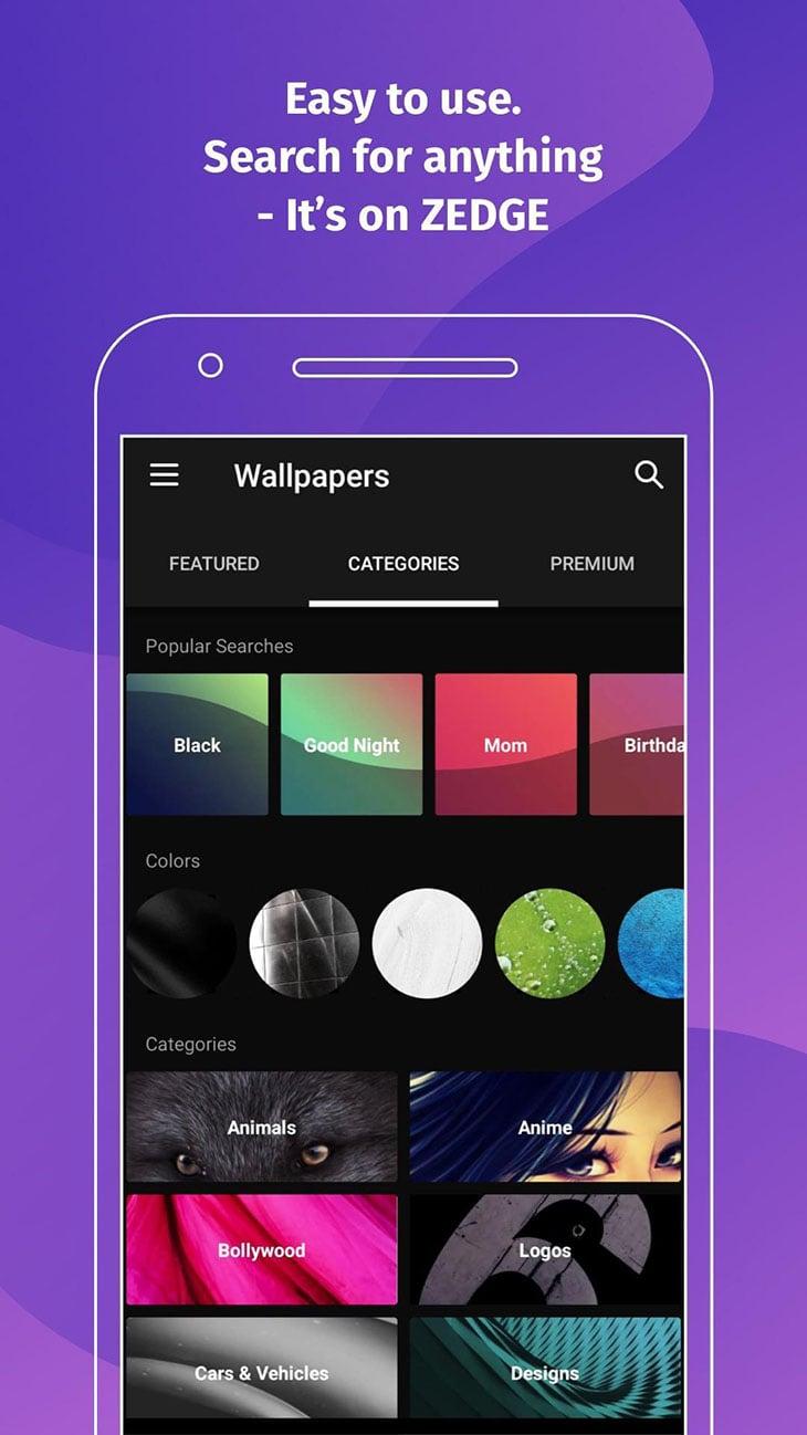 ZEDGE Wallpapers and Ringtones screenshot 1