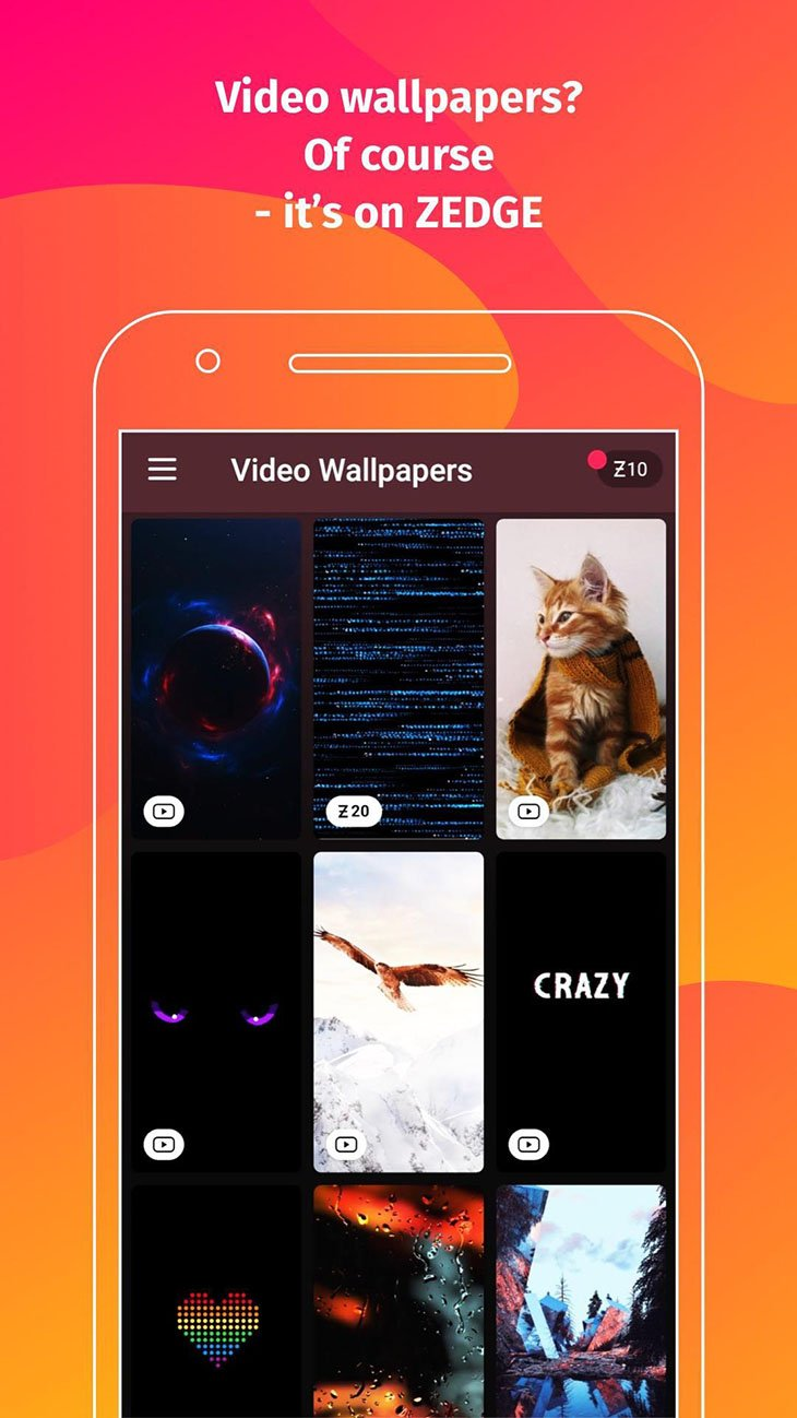 ZEDGE Wallpapers and Ringtones screenshot 3