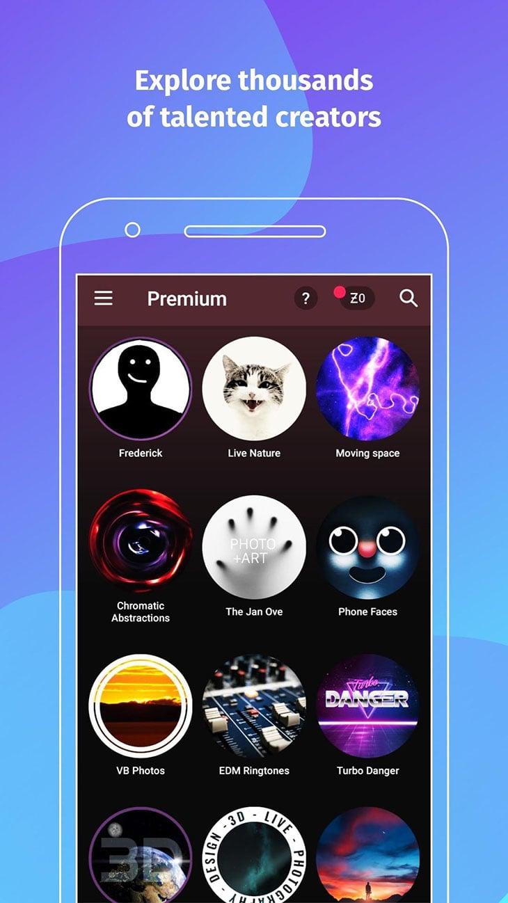 ZEDGE Wallpapers and Ringtones screenshot 4