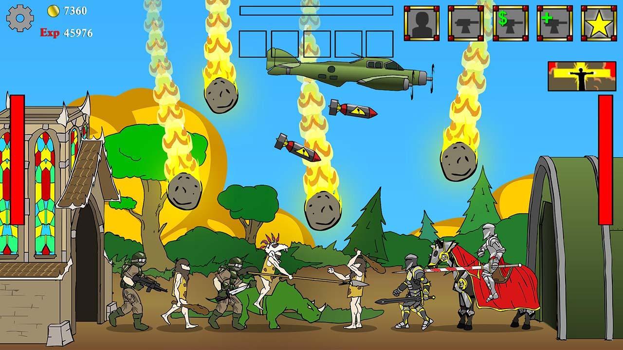 Age of War screen 0
