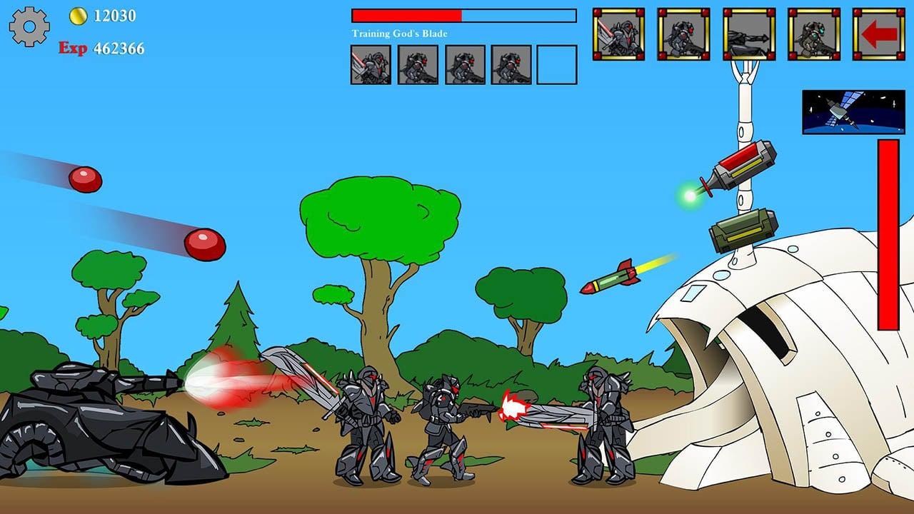 Age of War screen 1