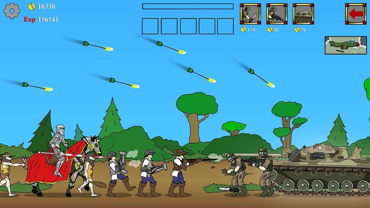 Age of War screen 2
