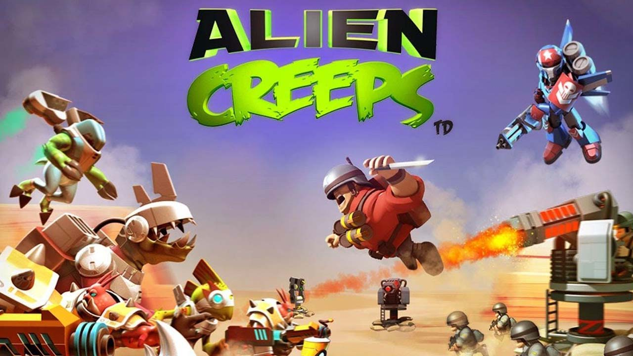 Alien Creeps poster