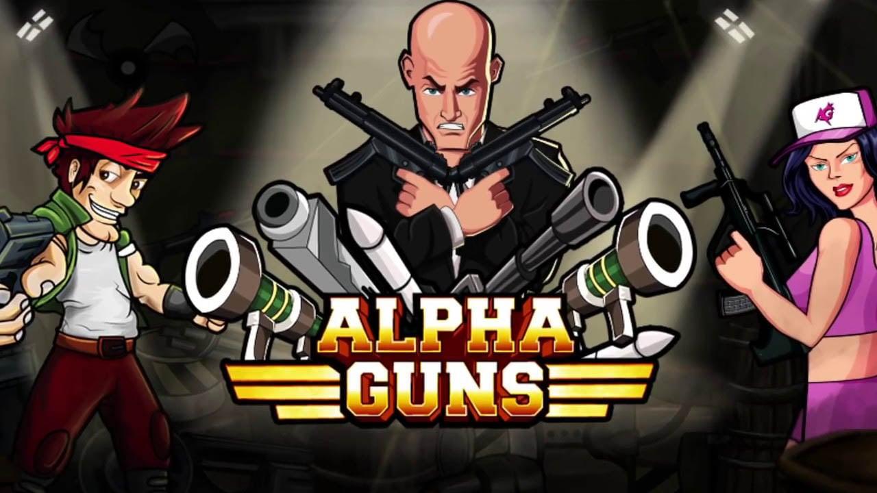 Alpha Guns poster