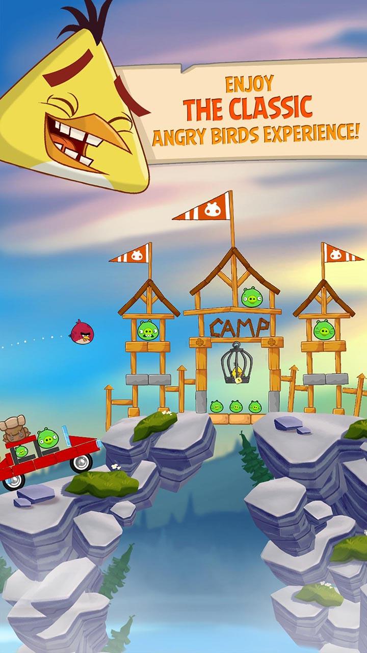 Angry Birds Seasons screen0