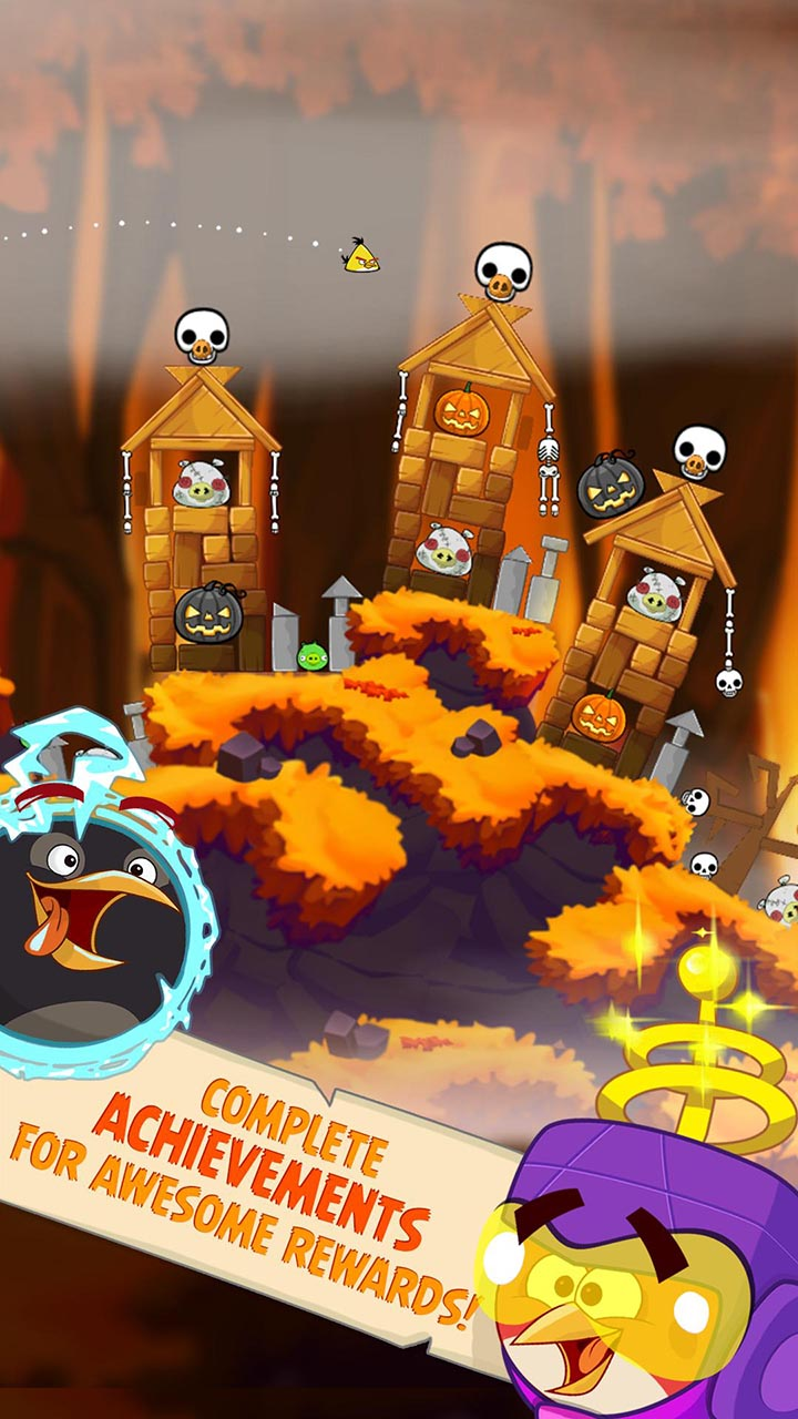 Angry Birds Seasons screen 1