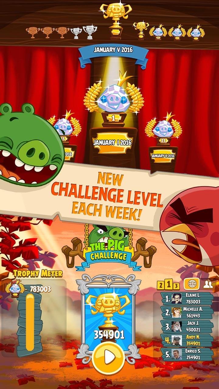 Angry Birds Seasons screen 3