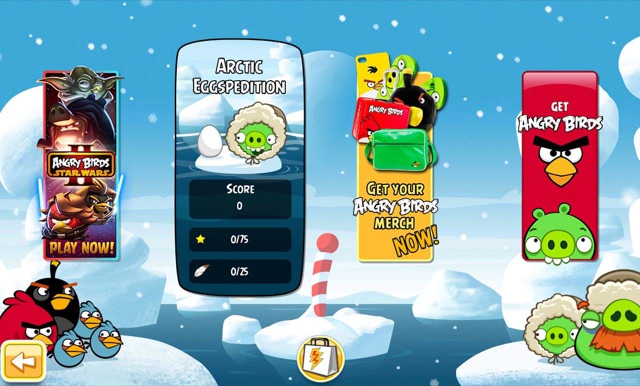 Angry Birds Seasons screen 5