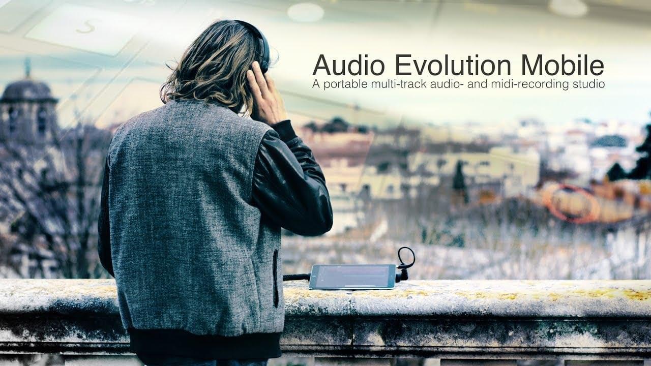 Audio evolution mobile studio poster