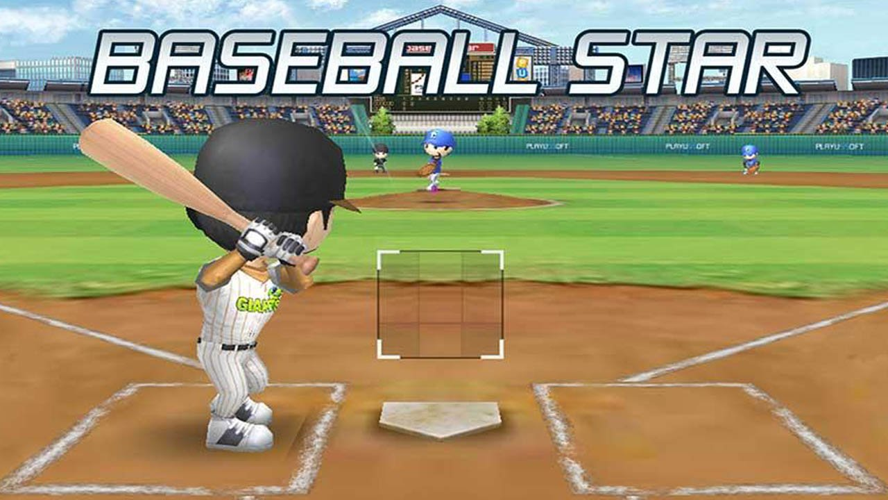 Baseball star poster
