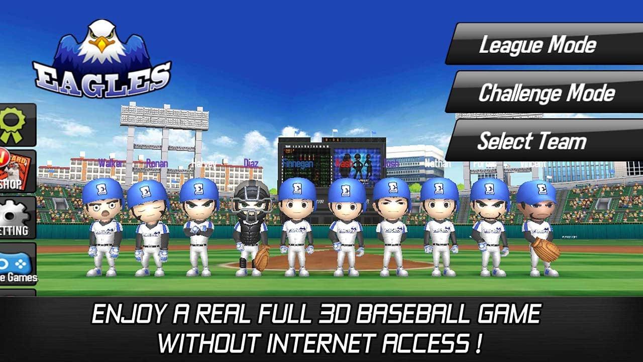 Baseball star screen 0