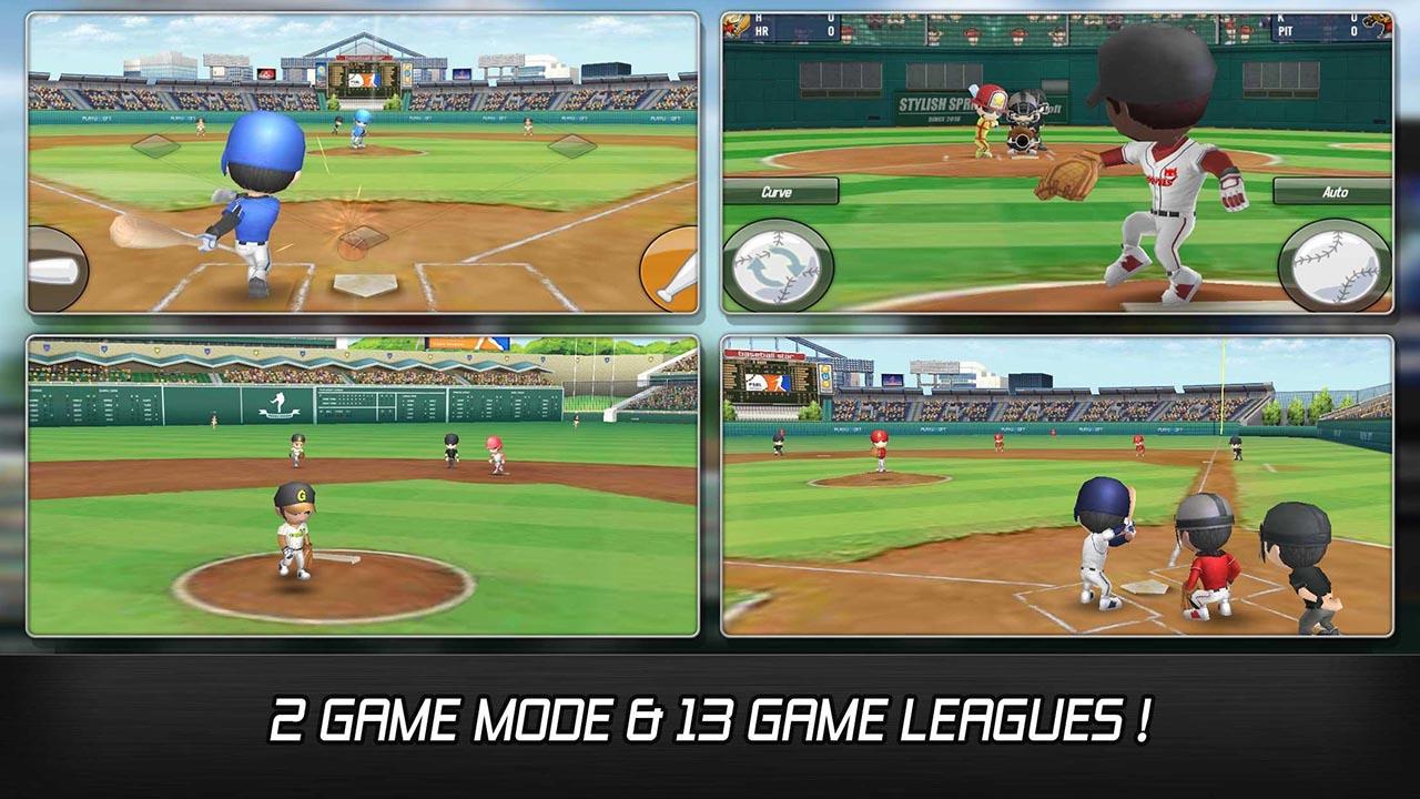 Baseball star screen 2
