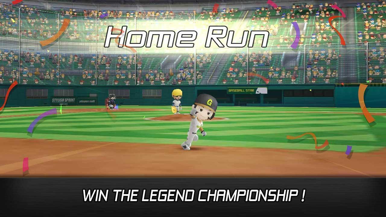Baseball star screen 3