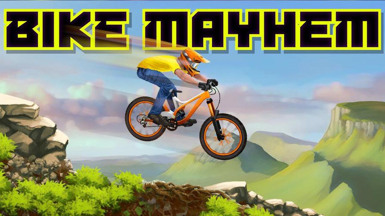 Bike Mayhem Mountain Racing poster