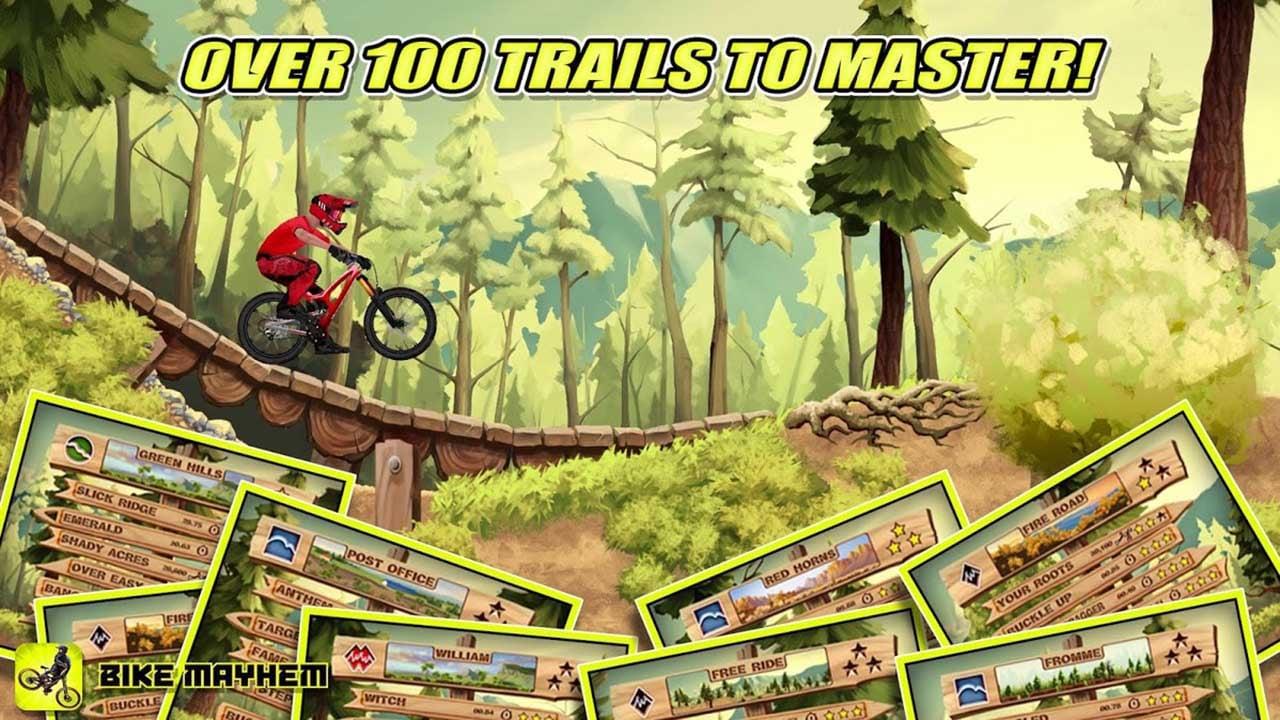 Bike Mayhem Mountain Racing screen 1