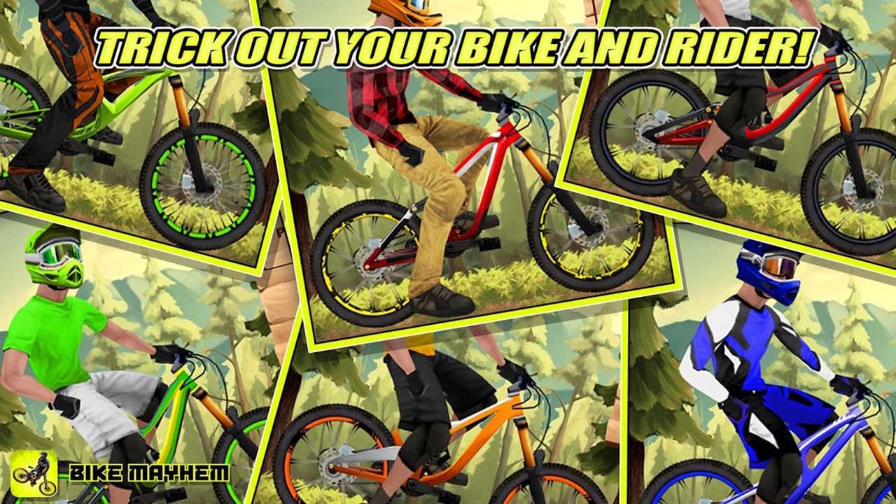 Bike Mayhem Mountain Racing screen 2