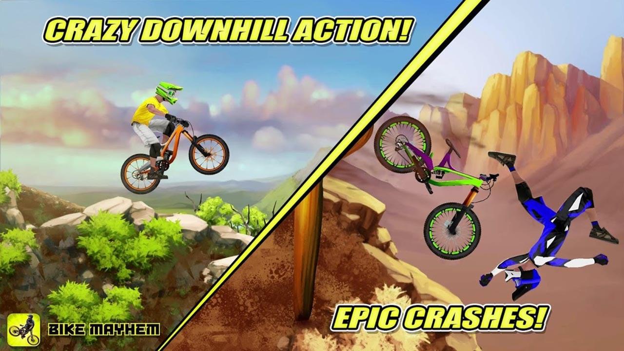 Bike Mayhem Mountain Racing screen 4
