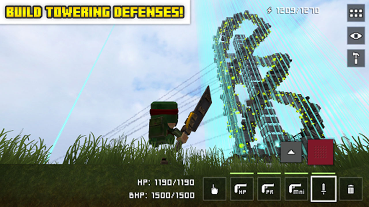 Block Fortress screen 2
