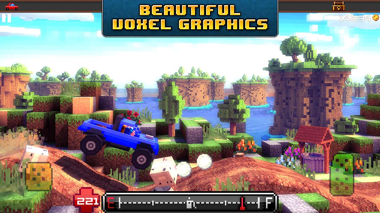 Blocky Roads screen 3