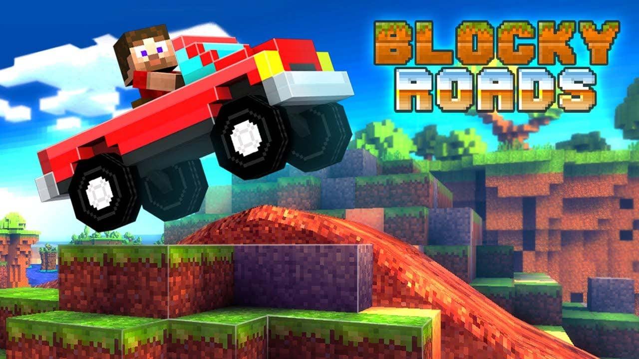 Blocky Roads poster