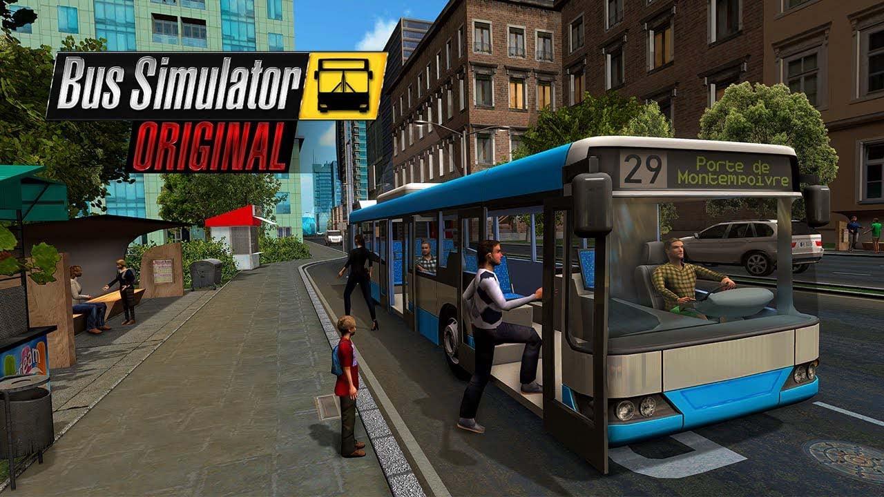 bus simulator poster