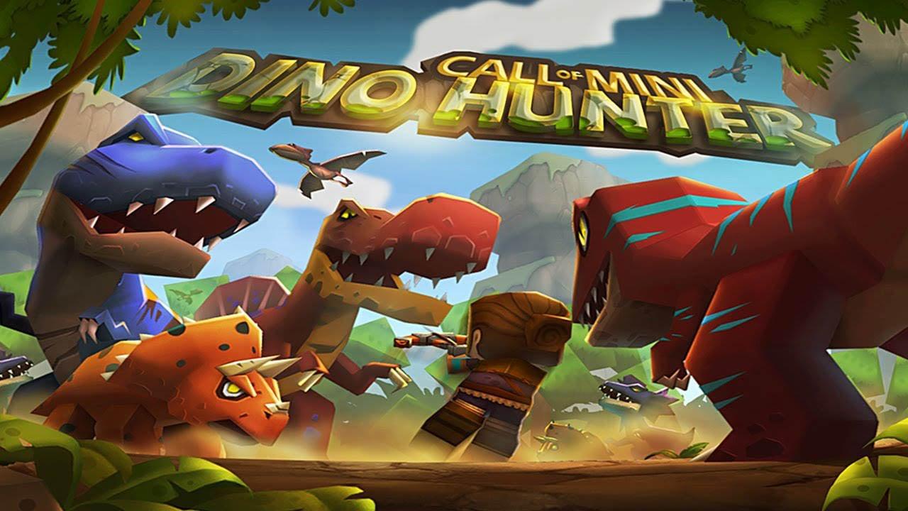 Call of Mini Dino Hunter poster