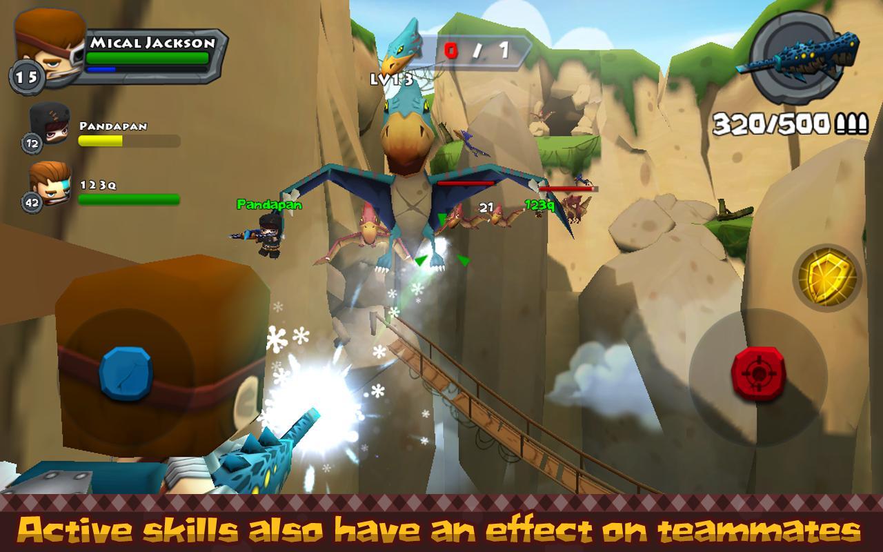 Call of Mini Dino Hunter screen 2
