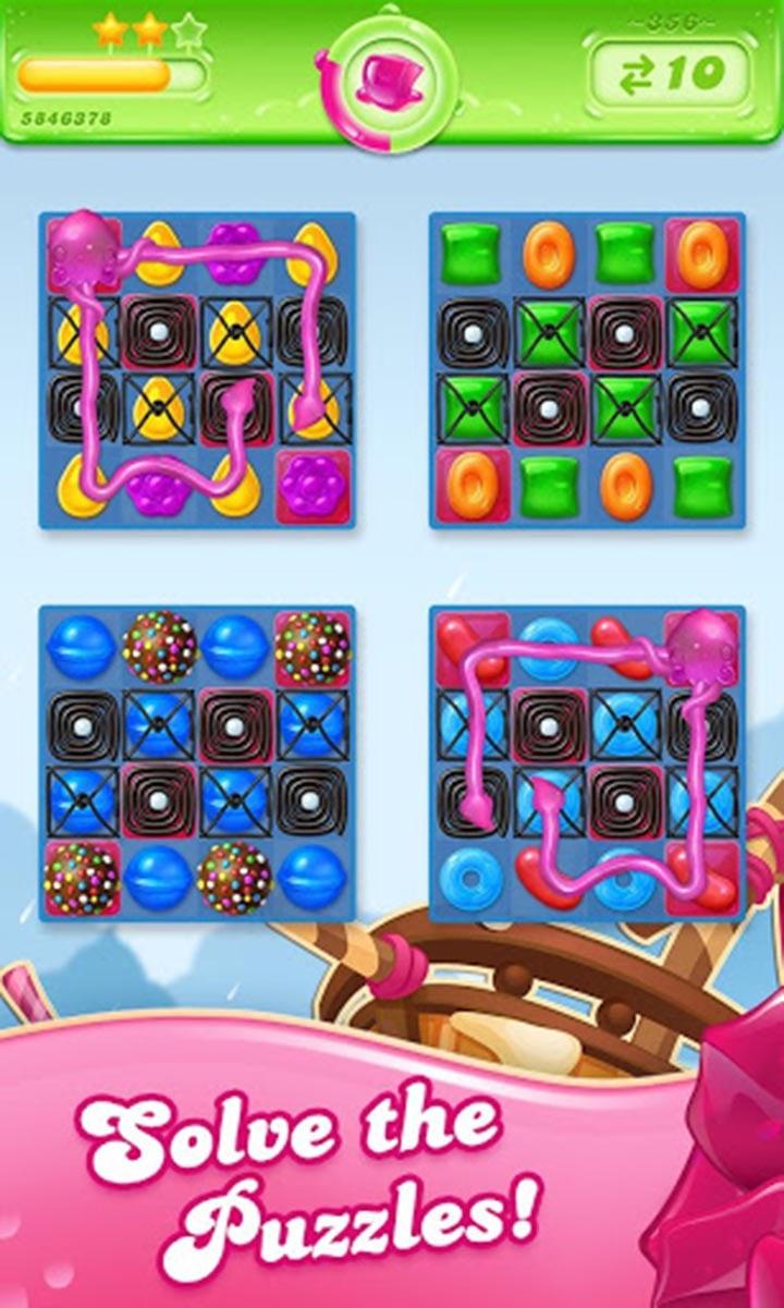 Candy Crush Jelly Saga screen 4