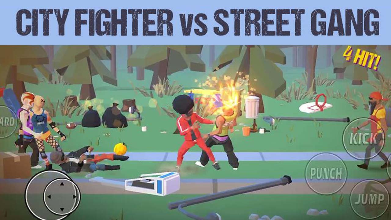 City Fighter vs Street Gang poster
