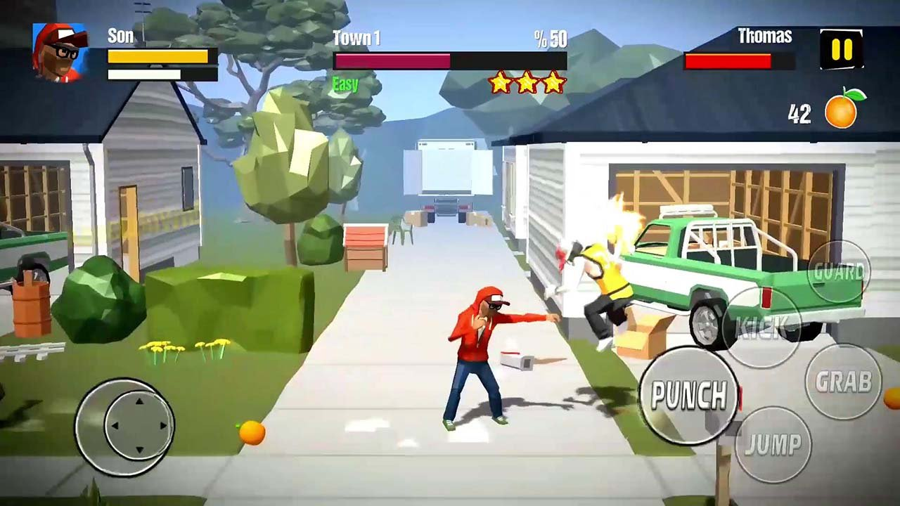 City Fighter vs Street Gang screen 1