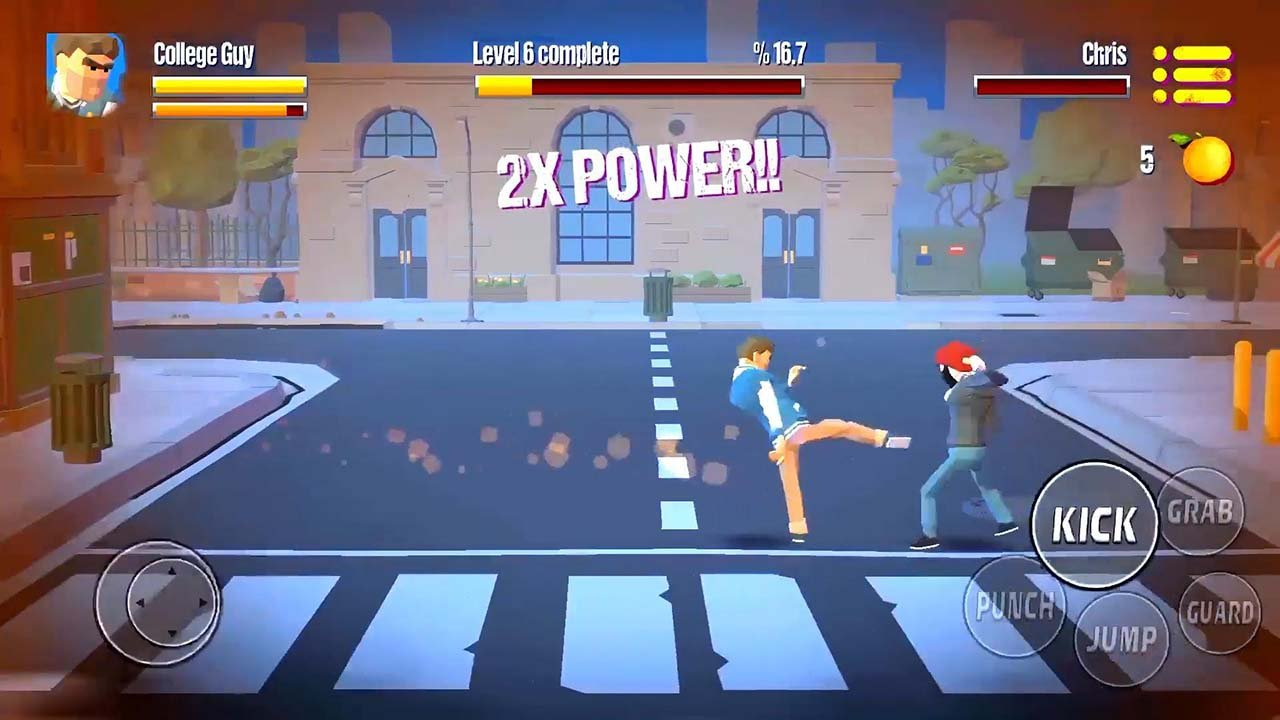 City Fighter vs Street Gang screen 2