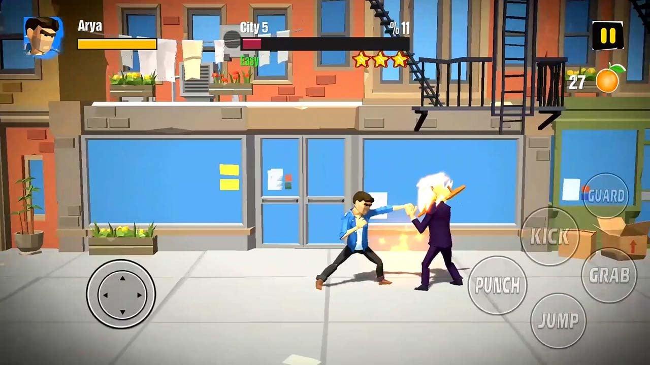 City Fighter vs Street Gang screen 3