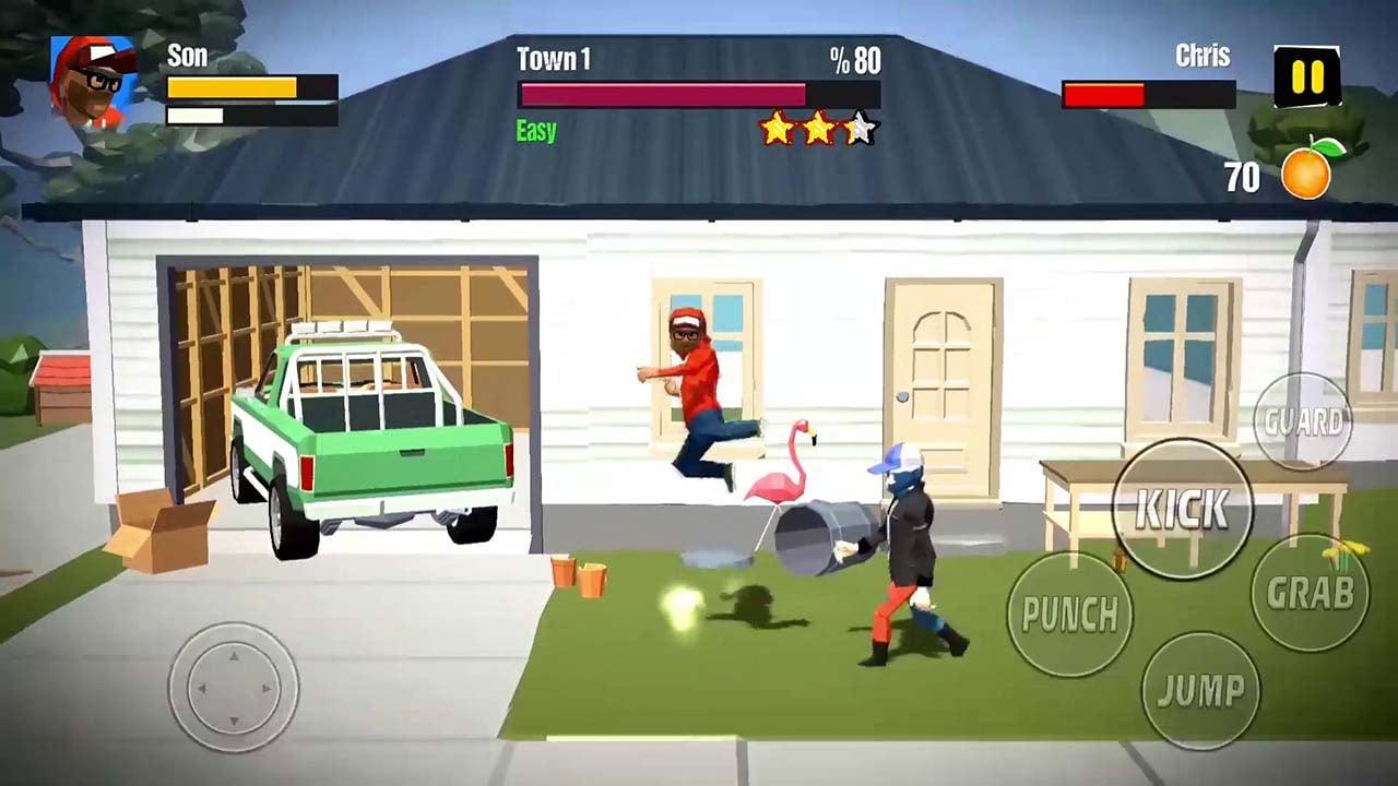 City Fighter vs Street Gang screen 4