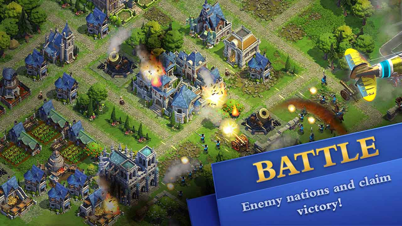 DomiNations screen 1