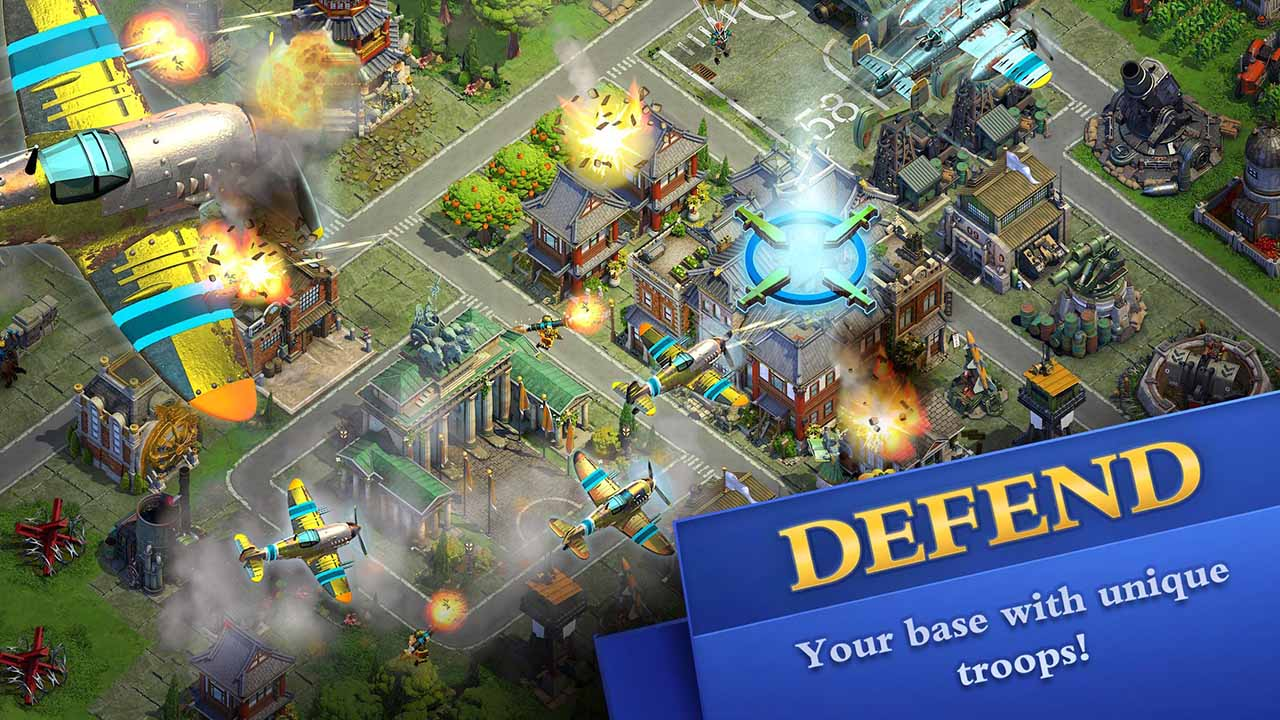 DomiNations screen 2