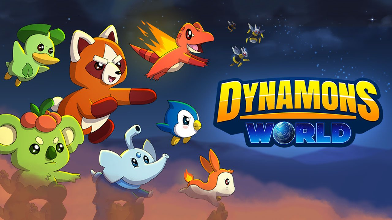 Dynamons World poster