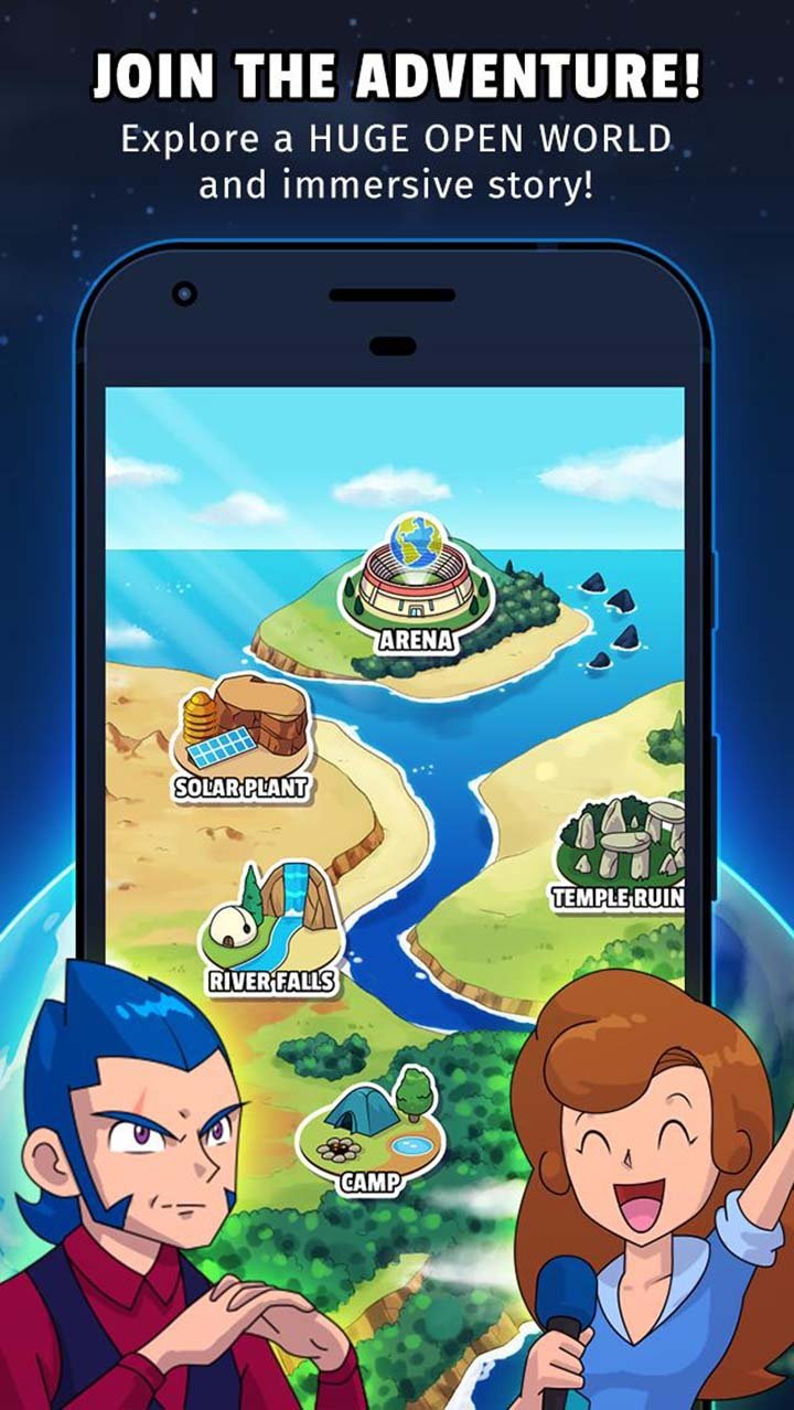 Dynamons World screen 3