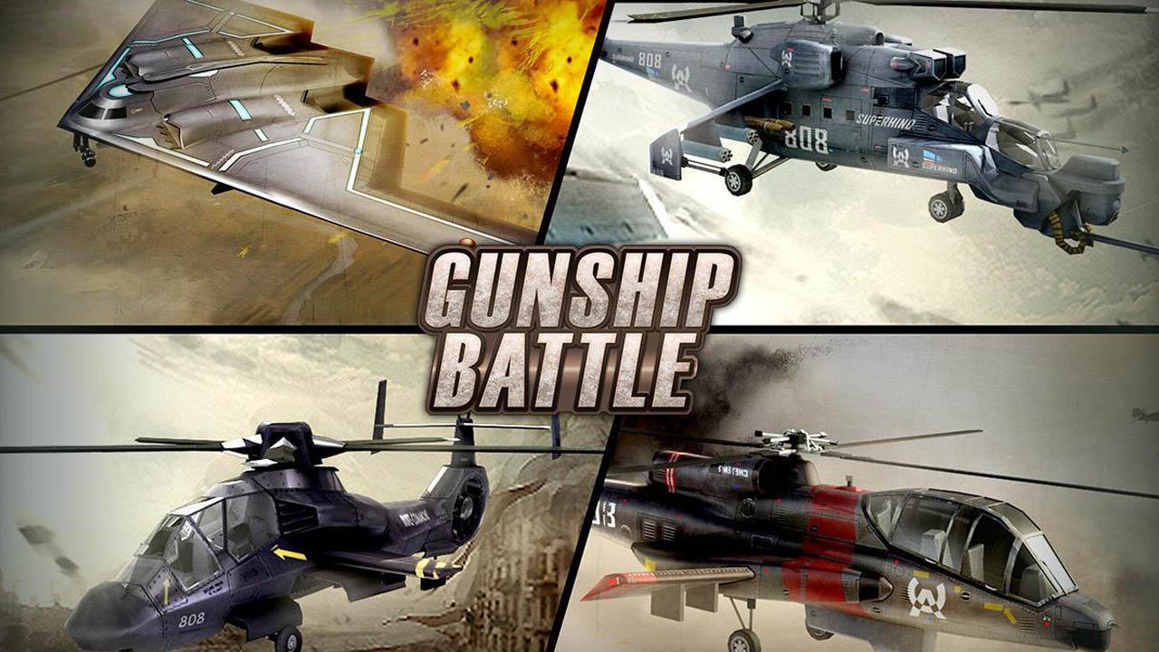 GUNSHIP BATTLE poster