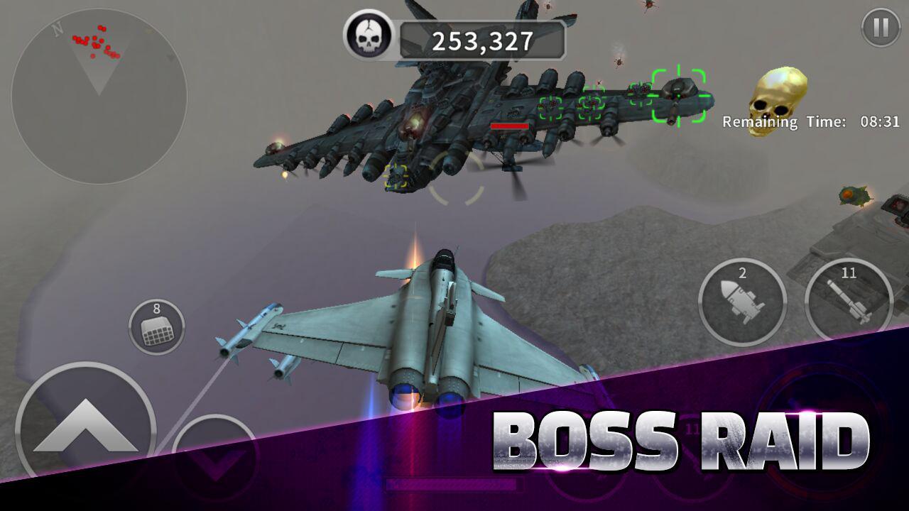 GUNSHIP BATTLE screen 3