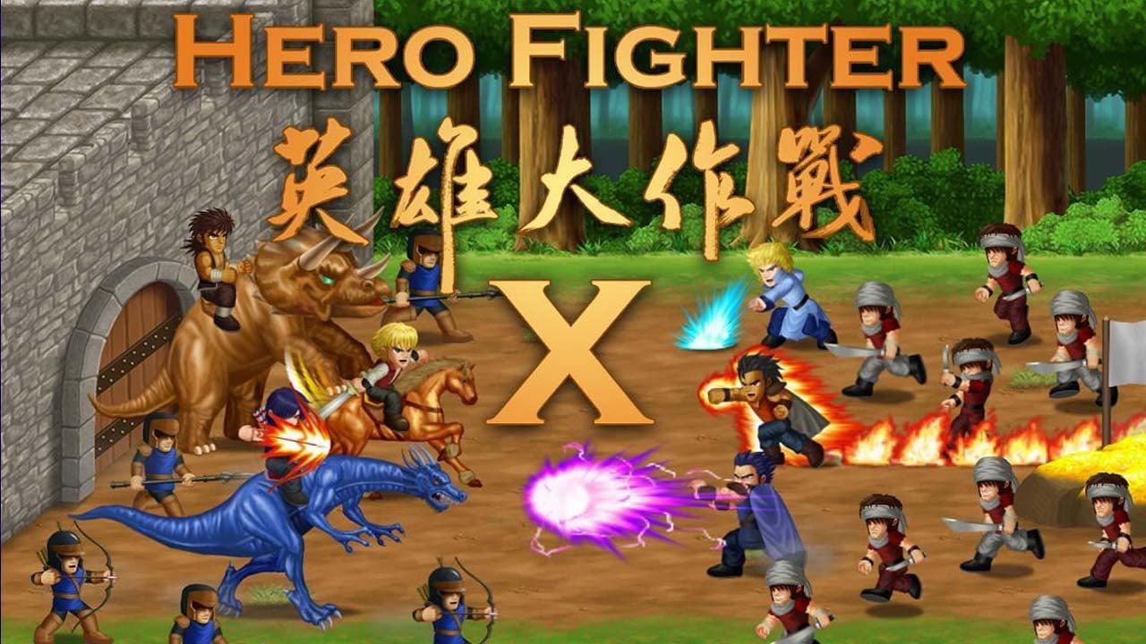 Hero Fighter X poster