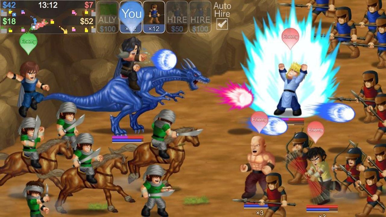 Hero Fighter X screen 2