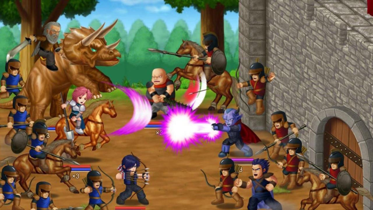 Hero Fighter X screen 3