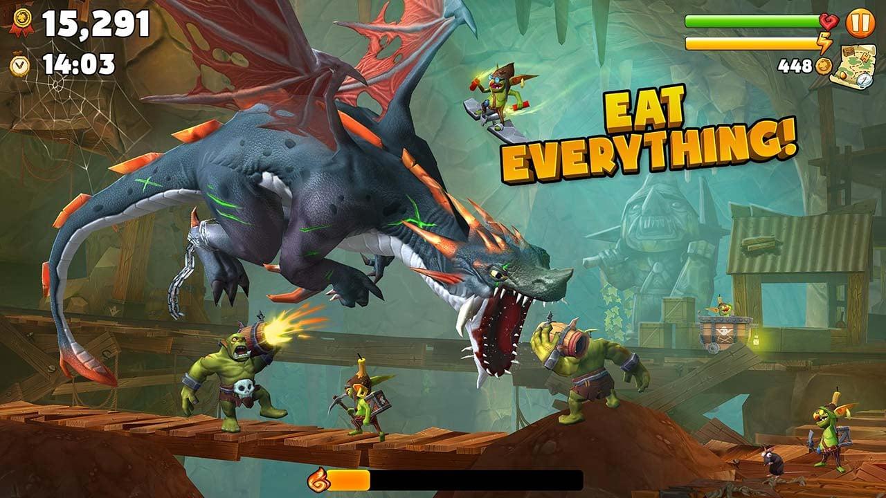 Hungry Dragon screen 2