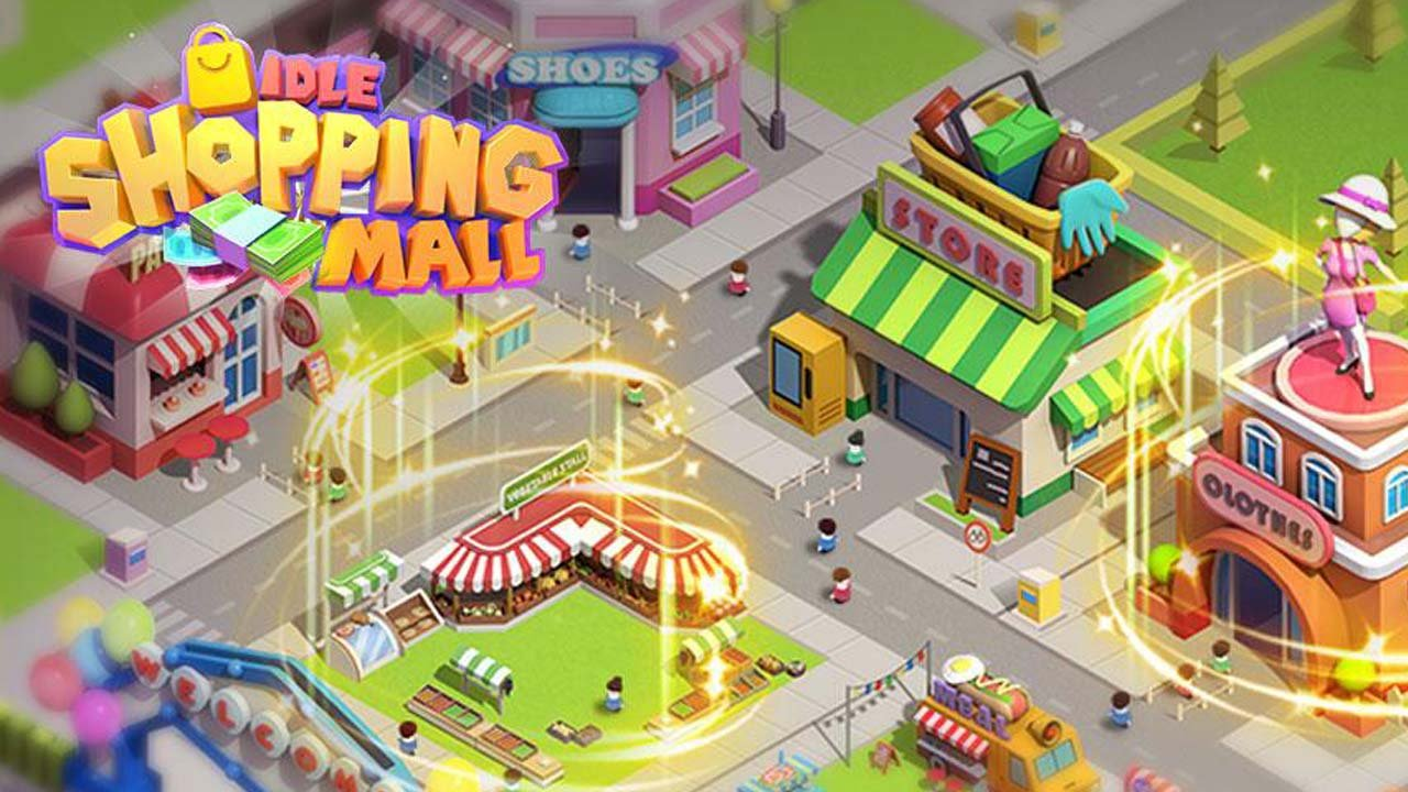 Idle Shopping Mall poster