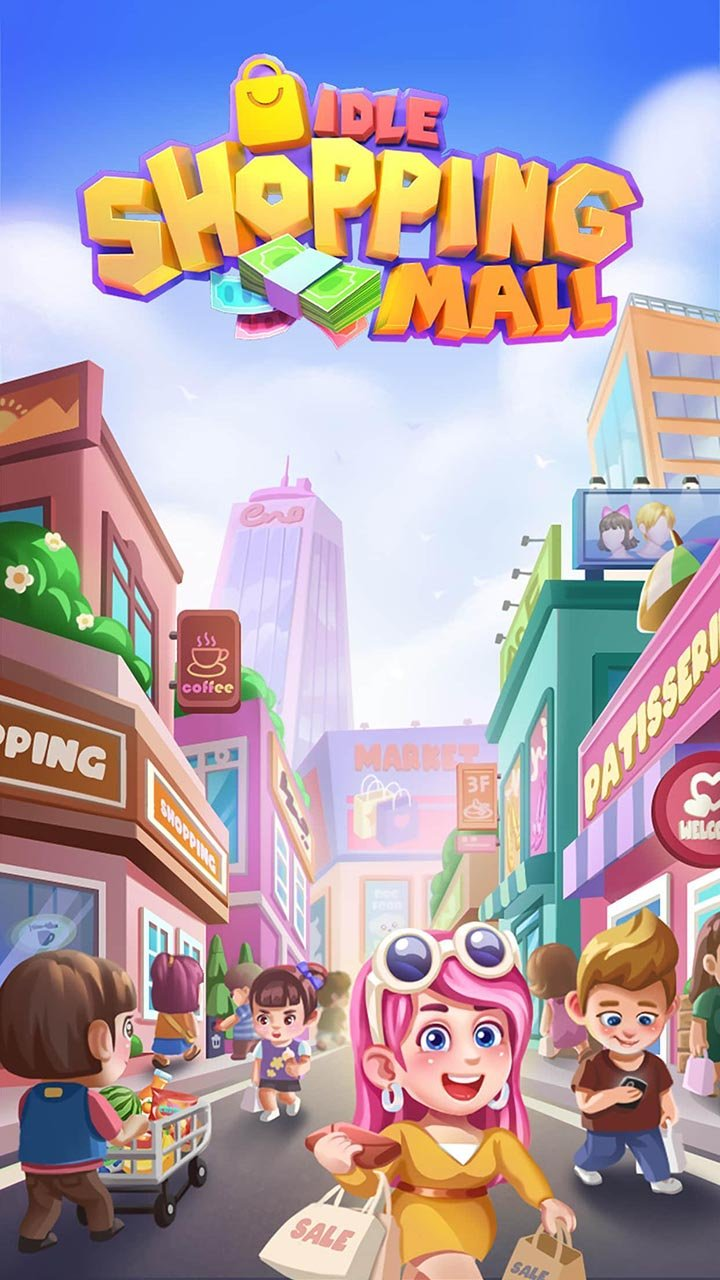 Idle Shopping Mall screen 2